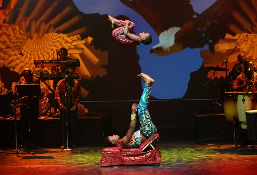 цирк без животных цирк мама африка