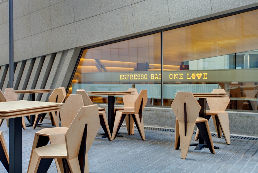 One Love espresso bar