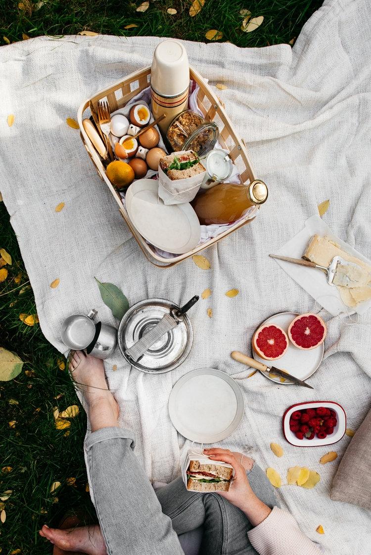 термосумка пикник на природе лето