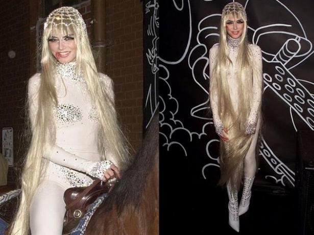 Неповторимая Хайди Клум: потрясающие костюмы супермодели на Хэллоуин - фото №1