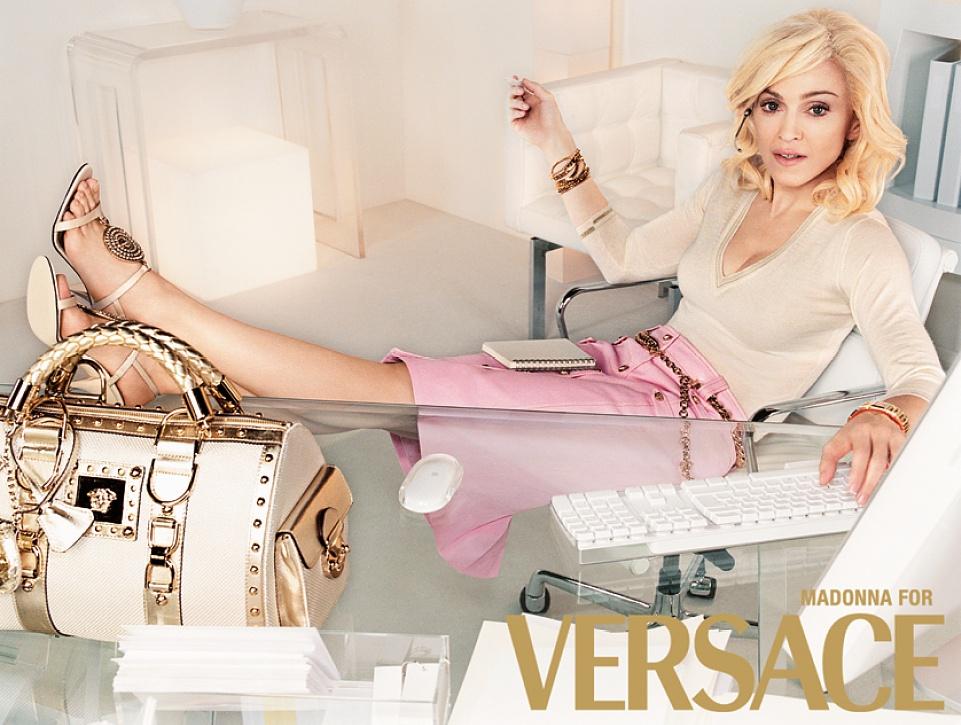 Почему 56-летняя Мадонна стала лицом Versace - фото №3