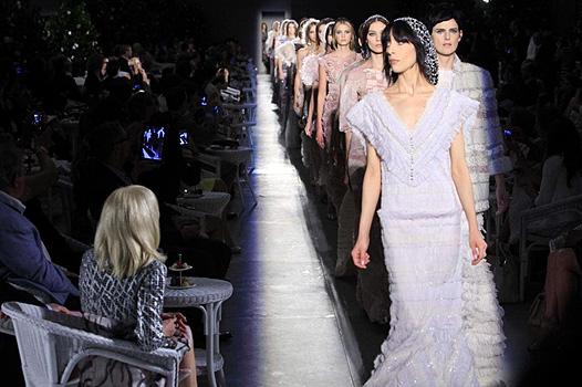 Неделя высокой моды в Париже: показ Chanel - фото №1
