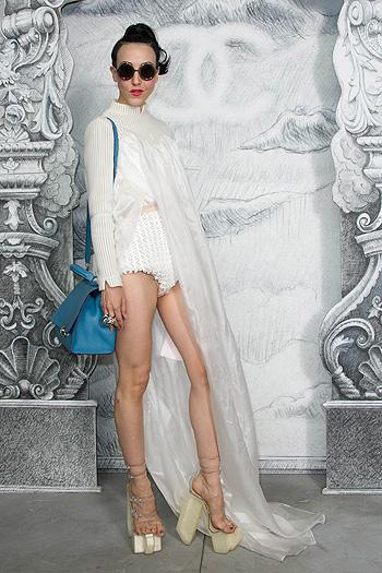 Неделя высокой моды в Париже: показ Chanel - фото №13