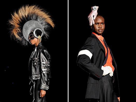 Неделя моды в Лондоне: Леди Гага на показе Philip Treacy - фото №7
