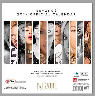 Бейонсе выпустила именной календарь на 2014 год - фото №2