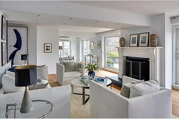 Звездный интерьер: Джулия Робертс продает свои роскошные апартаменты в Нью-Йорке - фото №1