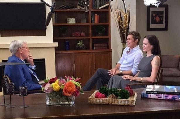 Джоли и Питт дали интервью