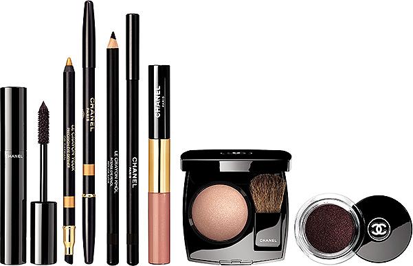 новогодняя линейка макияжа Chanel