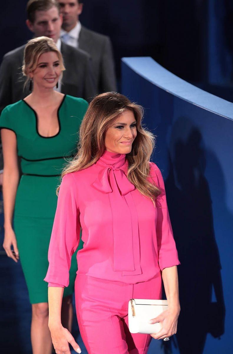 эволюция стиля Меланьи Трамп