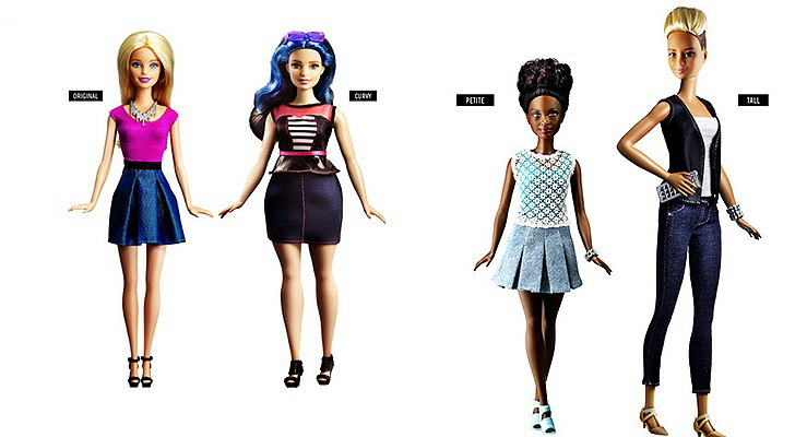 обновленная Барби