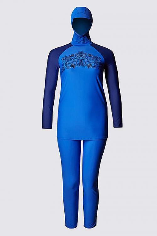 Как выглядят буркини – купальники для мусульманcких женщин: брюки, туника и капюшон - фото №1