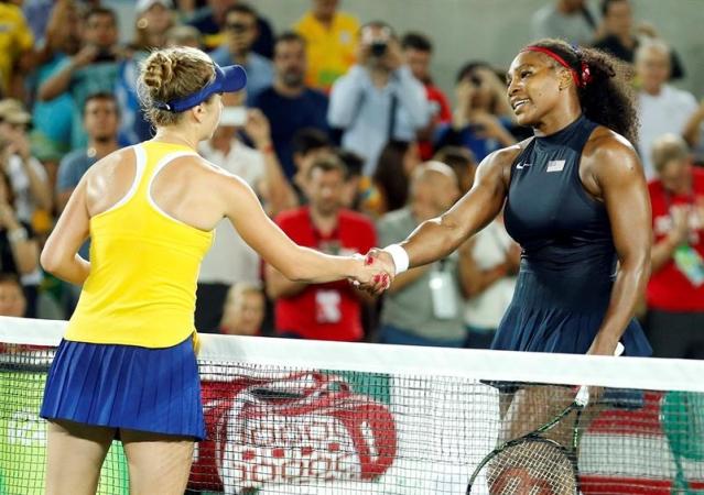 Серена Уильямс проиграла украинке Элине Свитолиной на Олимпийский играх-2016