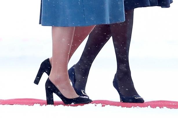 кейт миддлтон снегопад фото