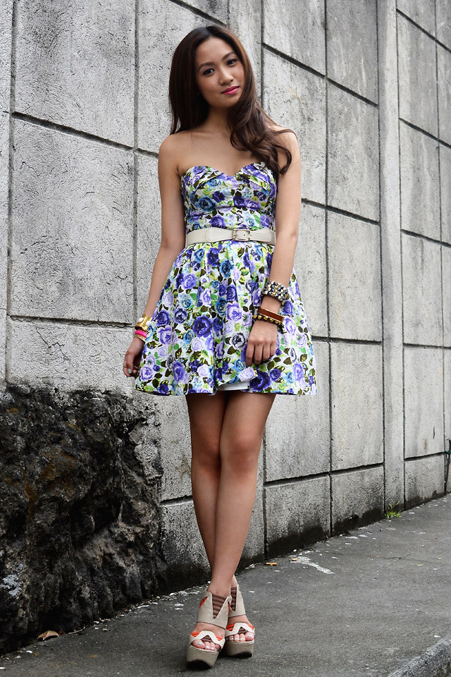Модные платья в цветочек сезона весна-лето 2013 - фото №4