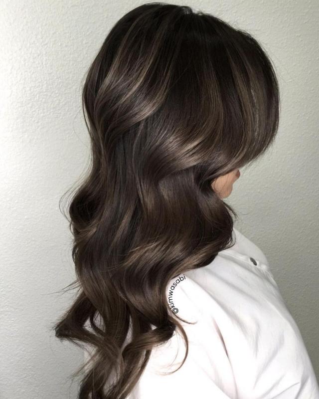 10 вариантов модного серого окрашивания волос - фото №1