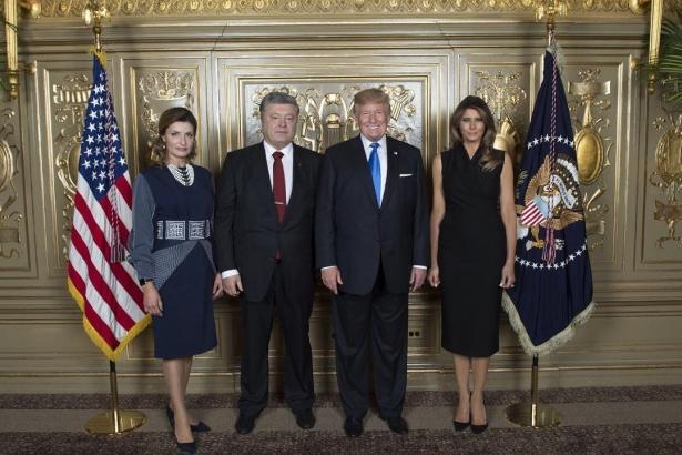 трамп и порошенко фото