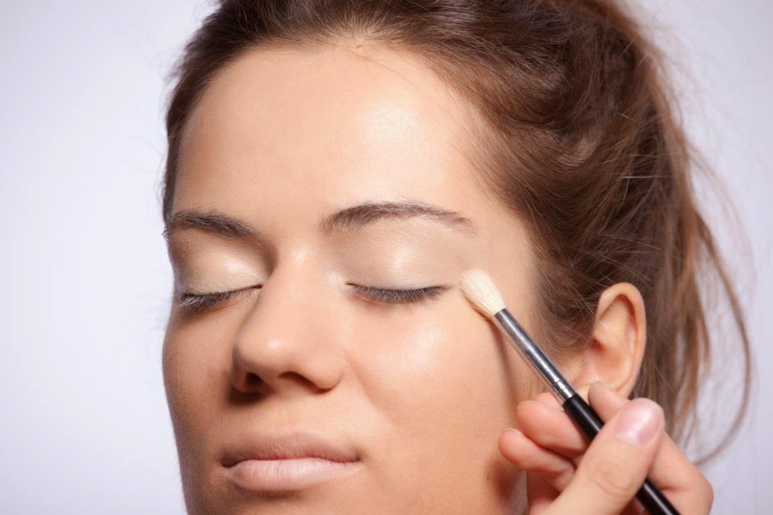 дневной макияж для глаз