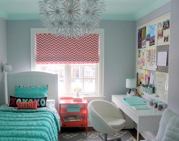 комната для дочери подростка