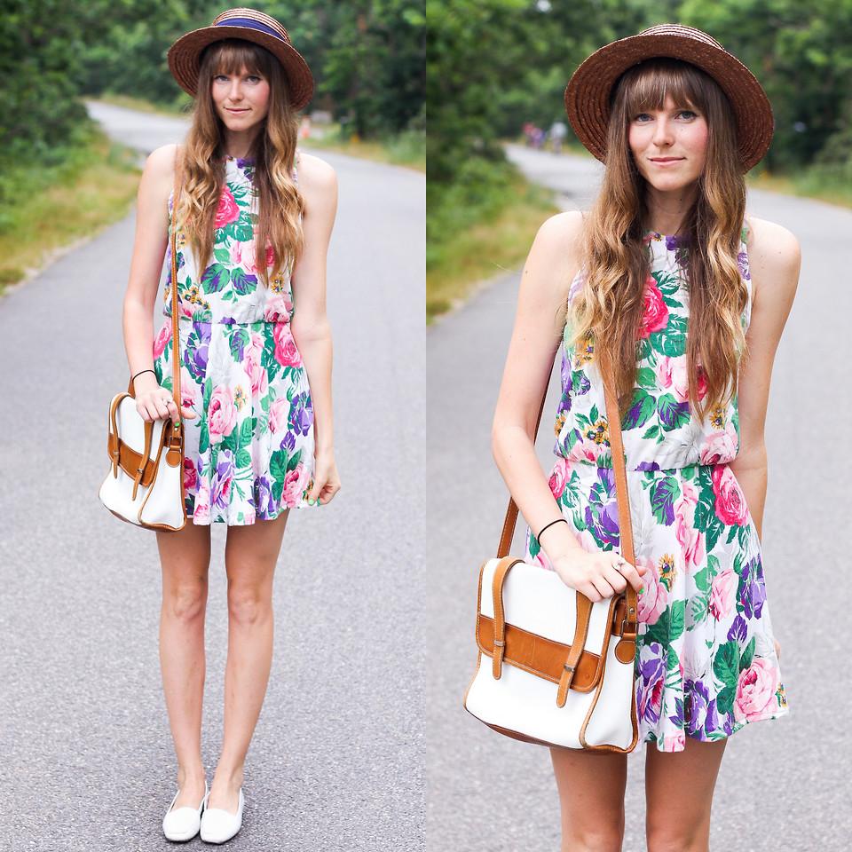 Модные платья в цветочек сезона весна-лето 2013 - фото №11