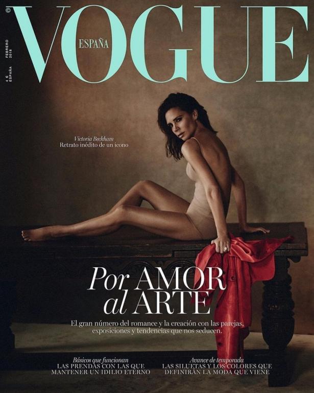 Виктория Бекхєм фото Vogue