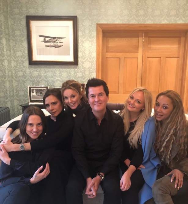 Spice Girls вместе