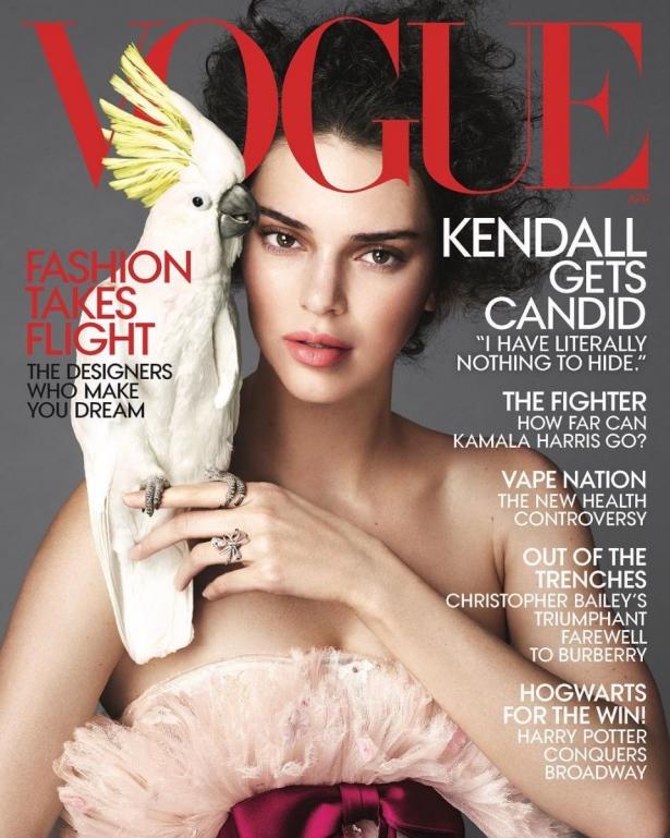 Кендалл Дженнер для Vogue