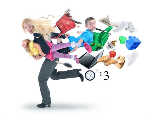 Синдром работающей мамы: как соблюсти баланс - фото №1