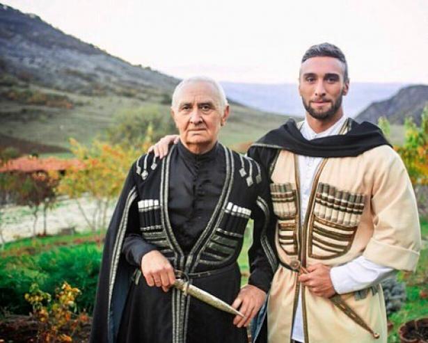 Иракли Макацария и его отец