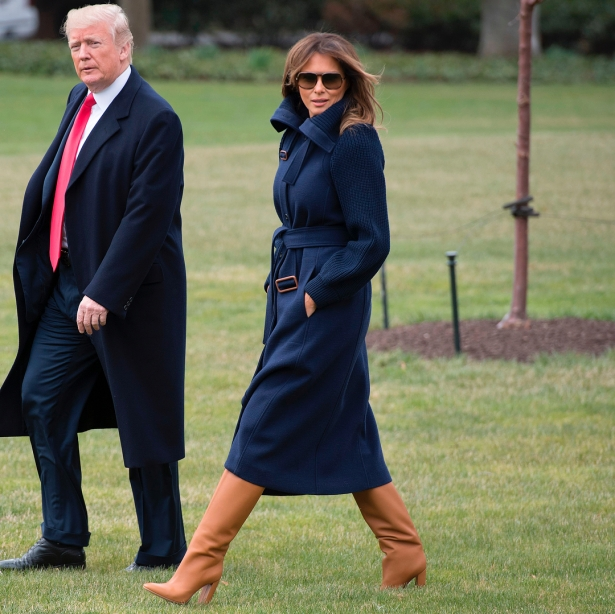 правда о жизни мелании трамп в белом доме