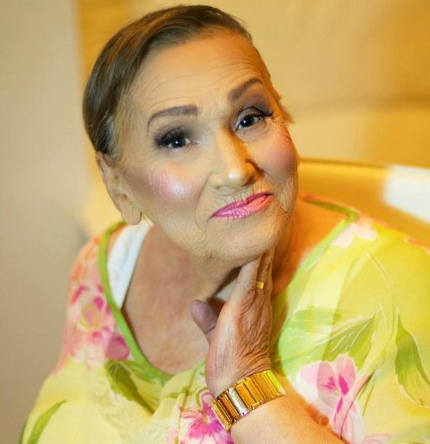Красоте все возрасты покорны: визажистка показала прекрасное перевоплощение своей 80-летней бабушки - фото №2