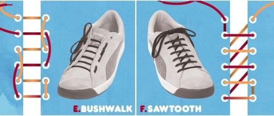 Как можно оригинально завязать шнурки на кроссовках: практические советы (фото и видео) - фото №3