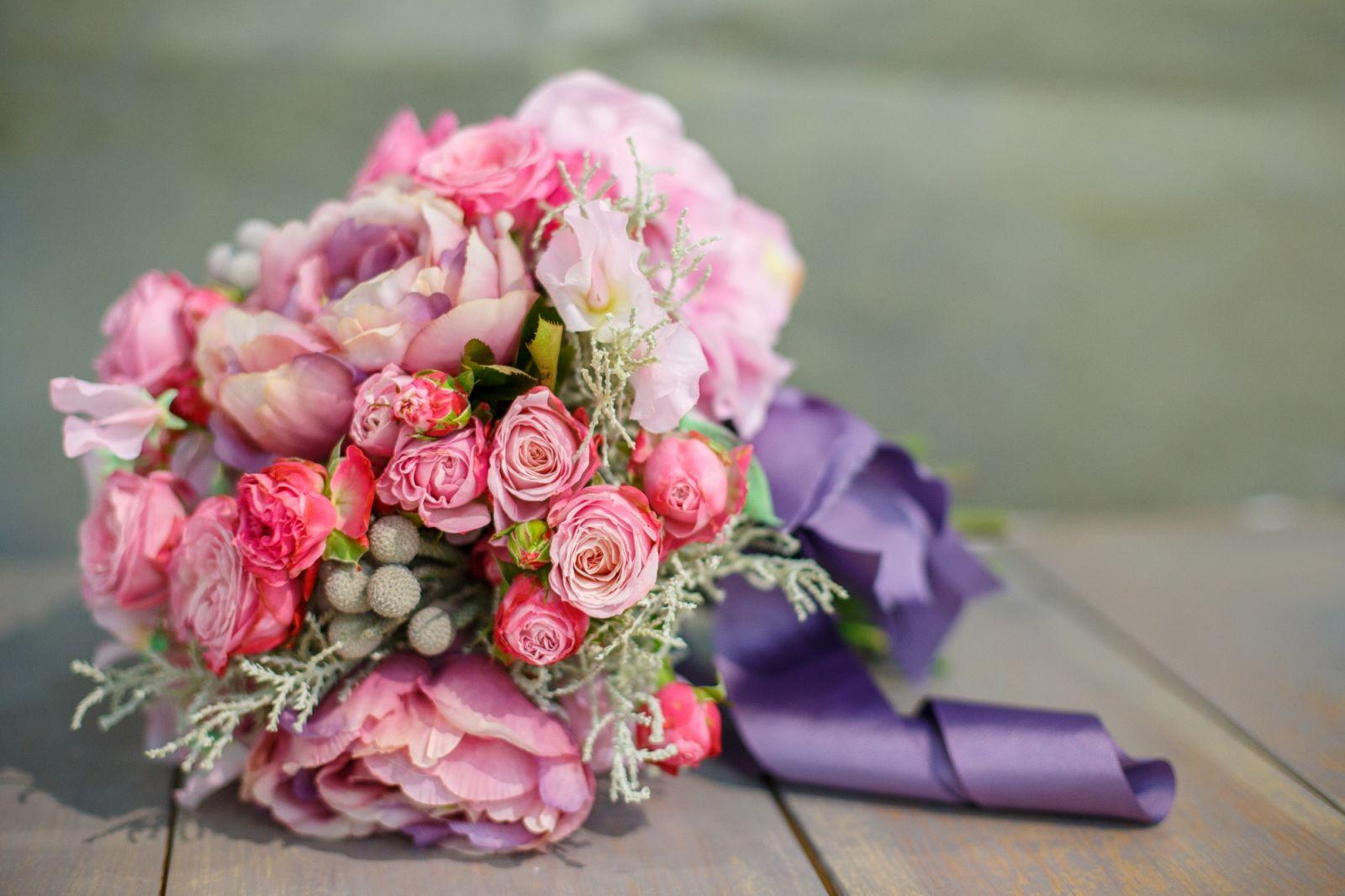 Самые модные свадебные букеты 2013 - фото №3