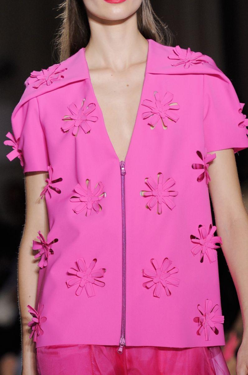Платье с цветочной перфорацией John Galliano - фото №4