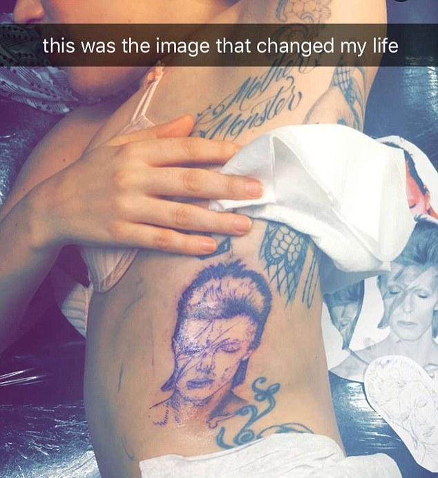 леди гага татуировки фото