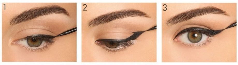 Как сделать стрелки для разной формы глаз - фото №11
