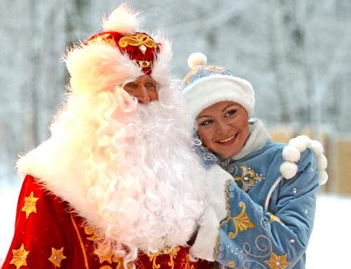 Сколько стоят Дед Мороз и Снегурочка на Новый год - фото №1