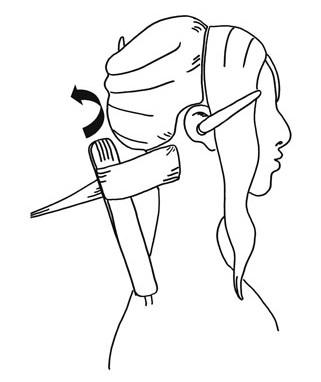 Как сделать шикарные локоны утюжком - фото №1