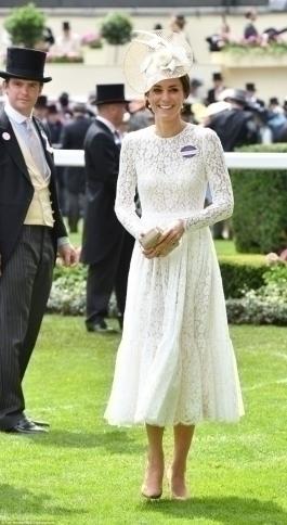 Кейт Миддлтон на Royal Ascot 2016
