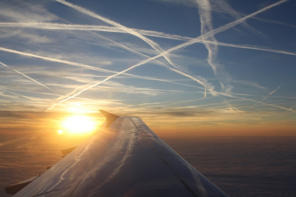 полет в небе фото