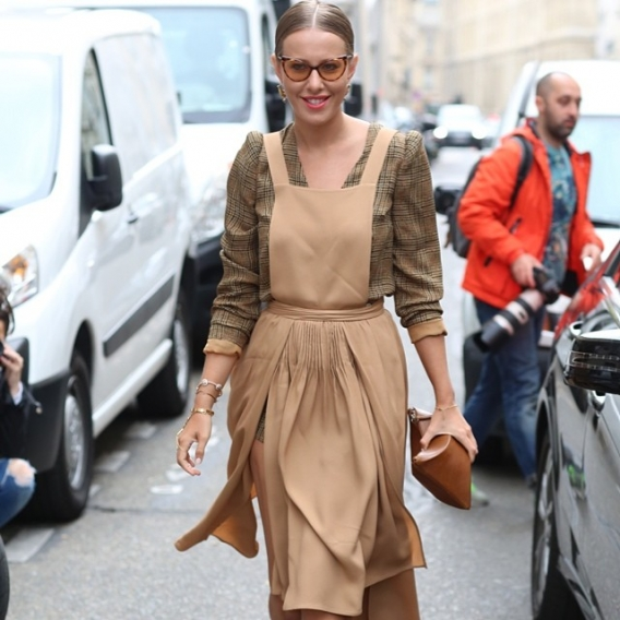 Американский Vogue написал об эволюции стиля Ксении Собчак