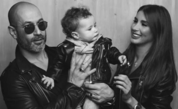 топурия с мужем и дочкой