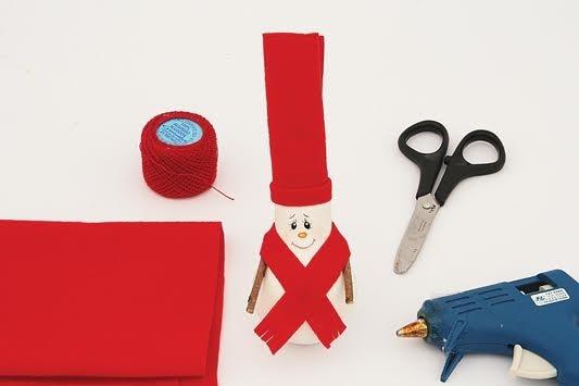Как сделать новогодние украшения из старых вещей: пошаговая инструкция от мастера хенд-мейда - фото №6