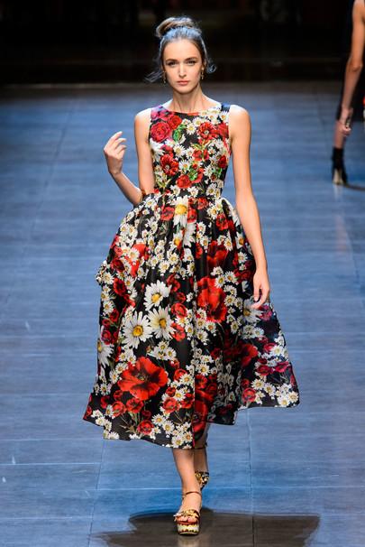 Dolce & Gabbana модная коллекция 2015
