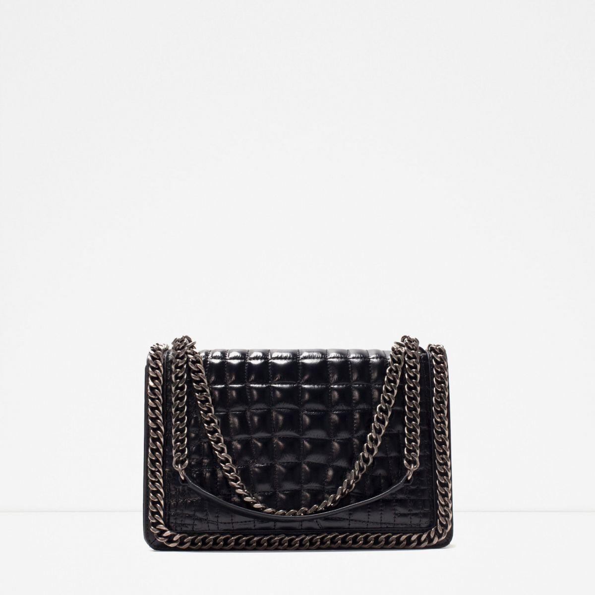 Модная кожаная сумка на осень 2015