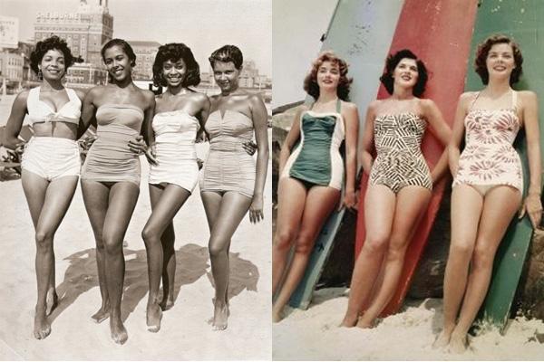 Как менялись женские купальники за 125 лет: видео - фото №4