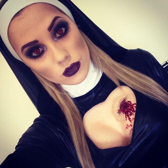Костюм монашки на Хэллоуин: устрашающе и чертовски привлекательно - фото №8