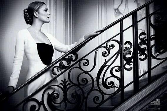 Дрю Бэрримор стала первым звездным редактором сайта о моде - фото №3