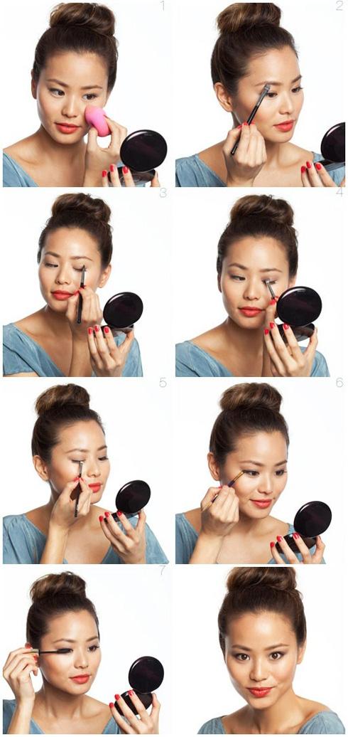 Как делают макияж корейские девушки - фото №2