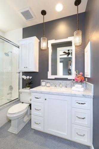 стильная плитка в ванной комнате