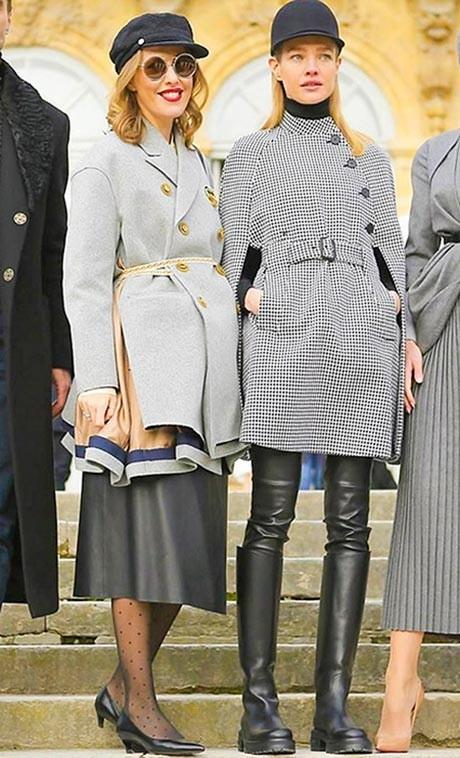 Неделя высокой моды в Париже Christian Dior Couture ss 2017 Ксения Собчак фото